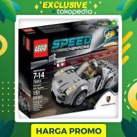Premium LEGO 75910 SPEED CHAMPIONS Porsche 918 Spyder Paling Laris
