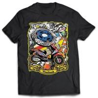 Kaos Racing Iseng-Iseng Thailook Honda Beat 01 - Printed T-shirt