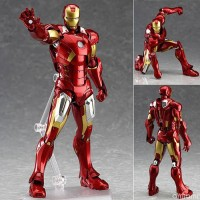 The Avengers 2 Action Figure Movable Iron Man Figma #217 Doll PVC Acti