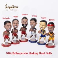 Joyyifor NBA Super Star Player Shaking Head Action Figure Basketball M