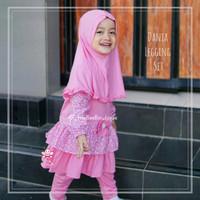 eLBi Dania Legging Set - Baju Muslim Balita - Setelan Baju Anak 1-2thn