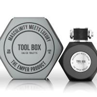PARFUM ORIGINAL EMPER TOOL BOX SILVER EDT 100ML FOR MEN SEGEL BPOM NEW