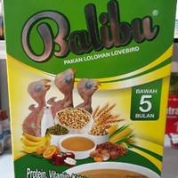 balibu Pakan Lolohan lovebird paruh bengkok by Ebod Jaya