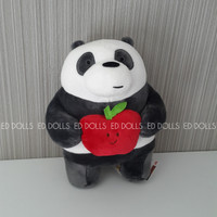 BONEKA WE BARE BEARS GRIZZLY ICE BEAR PANDA FROM MINISO