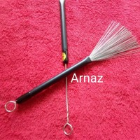 Stick brush drum or cajon