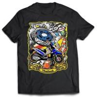 Kaos Racing Iseng-Iseng Thailook Honda Beat 02 - Printed T-shirt