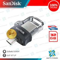 Sandisk OTG Dual USB M3.0 32GB - Flash Disk/ Flashdisk 32 GB 3.0