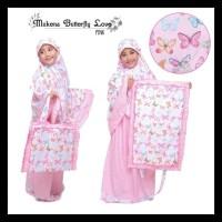Mukena Anak Butterfly Love Pink Size Xxl Gratis Ongkir