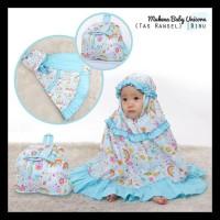 Mukena Anak Unicorn Biru Size Xxs / Baby (1-2 Tahun) Gratis Ongkir