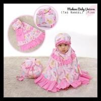 Mukena Anak Unicorn Pink - Size Baby (1-2 Tahun) Gratis Ongkir