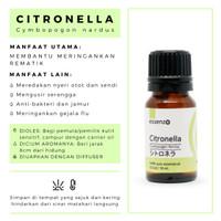 Citronella essential oil meringankan rematik nyeri otot nyeri sendi
