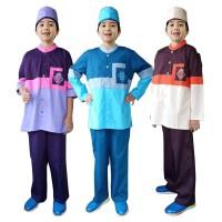 Baju Koko Anak Warna Fayrany FKW-006 Size 6 - 15 Tahun