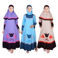 Baju Gamis Anak Warna Fayrany FGW-006 size 1 - 5