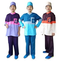 Baju Koko Anak Warna Fayrany FKW-006 Size 1 - 5 Tahun