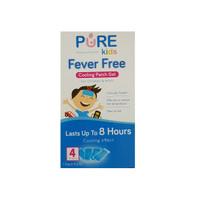 Purebaby Pure kids Fever Free / Plester Penurun Panas Isi 4 Pcs (Box)