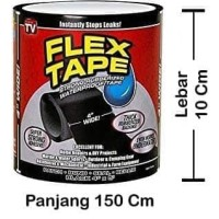 isolasi lakban anti air waterproof solasi rubberized seal tape flex ta