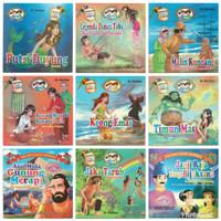 Buku Anak, Buku Cerita Bergambar Seri Cerita Rakyat Nusantara 2 Bahasa