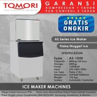 Mesin Pembuat Es Flake AS-1050 TOMORI ICE FLAKE Maker