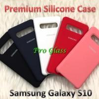 C201 Samsung S10 Original Samsung Silicon Leather Case Silicone