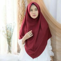 Jilbab Instan Segi Empat Diamond