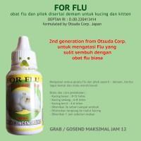 Obat Kucing Flu FOR FLU Aman Untuk Kitten Bukan Flu Cat
