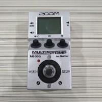 Zoom MS50G Multi Stomp - Efek Gitar MS-50G / MS50 CDR / MS 50 G