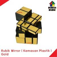 Rubik Mirror Magic Cube GOLD KEMASAN PLASTIK