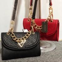 TAS WANITA GUESS Lyra Mini Crossbody Bag