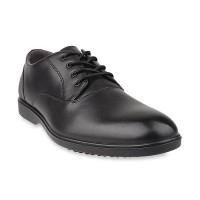 Hush Puppies Odnine Ledger In Wp Leather Sepatu Formal Pria - Black