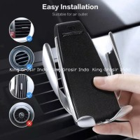 Wireless Car Charger Air Vent Automatic Clamping Holder 10W Type S5 FC