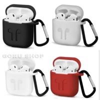 Airpods case airpods pouch premium quality free tali strap dan hanger
