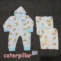 KD52 Sleepsuit Bayi Buka dan Tutup Kaki NJC/YKS Baju Kodok Bayi Piyama