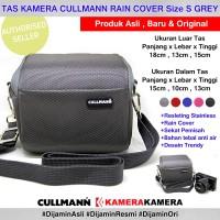 Tas Kamera CULLMANN RAIN COVER S Camera Bag for Mirrorless Camera - Abu-abu Muda