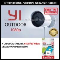 Xiaomi Yi Xiao Yi Outdoor CCTV IP Camera 1080P International + 64GB