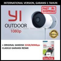 Xiaomi Yi Xiao Yi Outdoor CCTV IP Camera 1080P International + 32GB