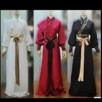 kostum ancient chinese pria dewasa halloween imlek klasik china