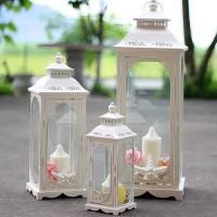 Lentera Lampion Tempat Lilin Candle Holder 3 in 1 Mousse Lantern