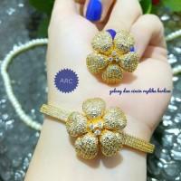 gelang tangan dan cincin replika berlian 25_040419