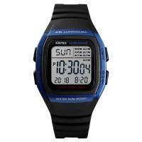 Jam Tangan Pria Digital SKMEI 1278 BLUE Water Resistant 50m