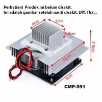 Thermoelectric Peltier Pendingin Cooler System Refrigeration Kit DIY