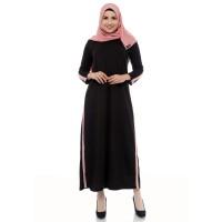 Mybamus Casual Line Dress Black M14523 R81S3