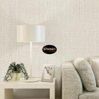 Wallpaper Minimalis Plain Cream | 45CM x 10M