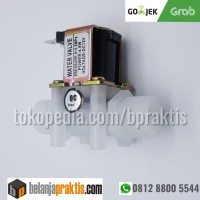 """Electric Solenoid Valve DC 12V N/C Water Inlet Flow Switch 1/2"""""""