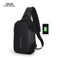 Mark Ryden MR7056 Crossbody Shoulder Bag - Tas Selempang Sling - BLACK