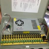 CCTV Power Supply Fan Box 12v 12volt 12 volt 20a 20amp HIGH QUALITY
