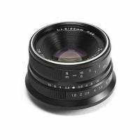 Lensa 7artisan 25mm F18 for Olympus Panasonic Black