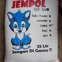 GOJEK pasir kucing gumpal 25lt 25 lt super premium 20kg 20 kg no maxi