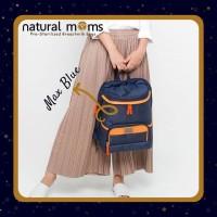 Natural Moms Cooler Bag Backpack Max Blue
