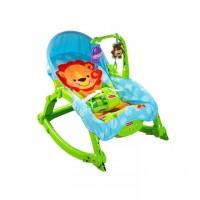 Fisher Price Newborn-to-Toddler Portable Rocker Hijau - Bouncer
