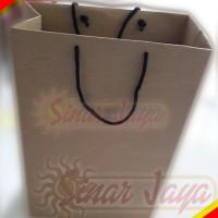 Paper Bag Kraft di Pekanbaru 25 x 30cm tebal 9 cm POLOS